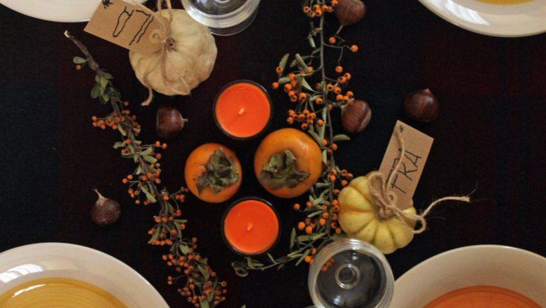 Come apparecchiare la tavola per Halloween