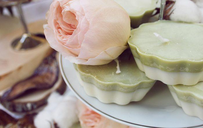 candele vegetali fai da te cera di soia