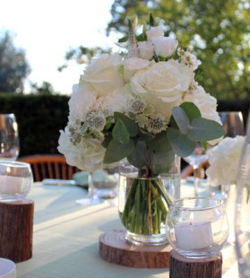 matrimonio allestimenti bianco verde
