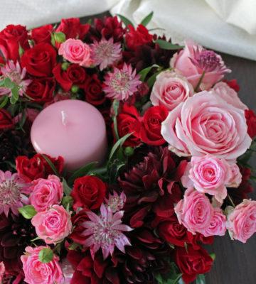 composizioni floreali per endemol