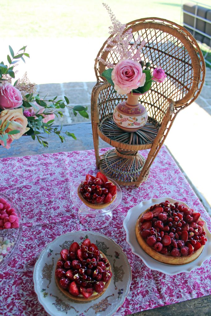 matilde allestimento sweet table fiori
