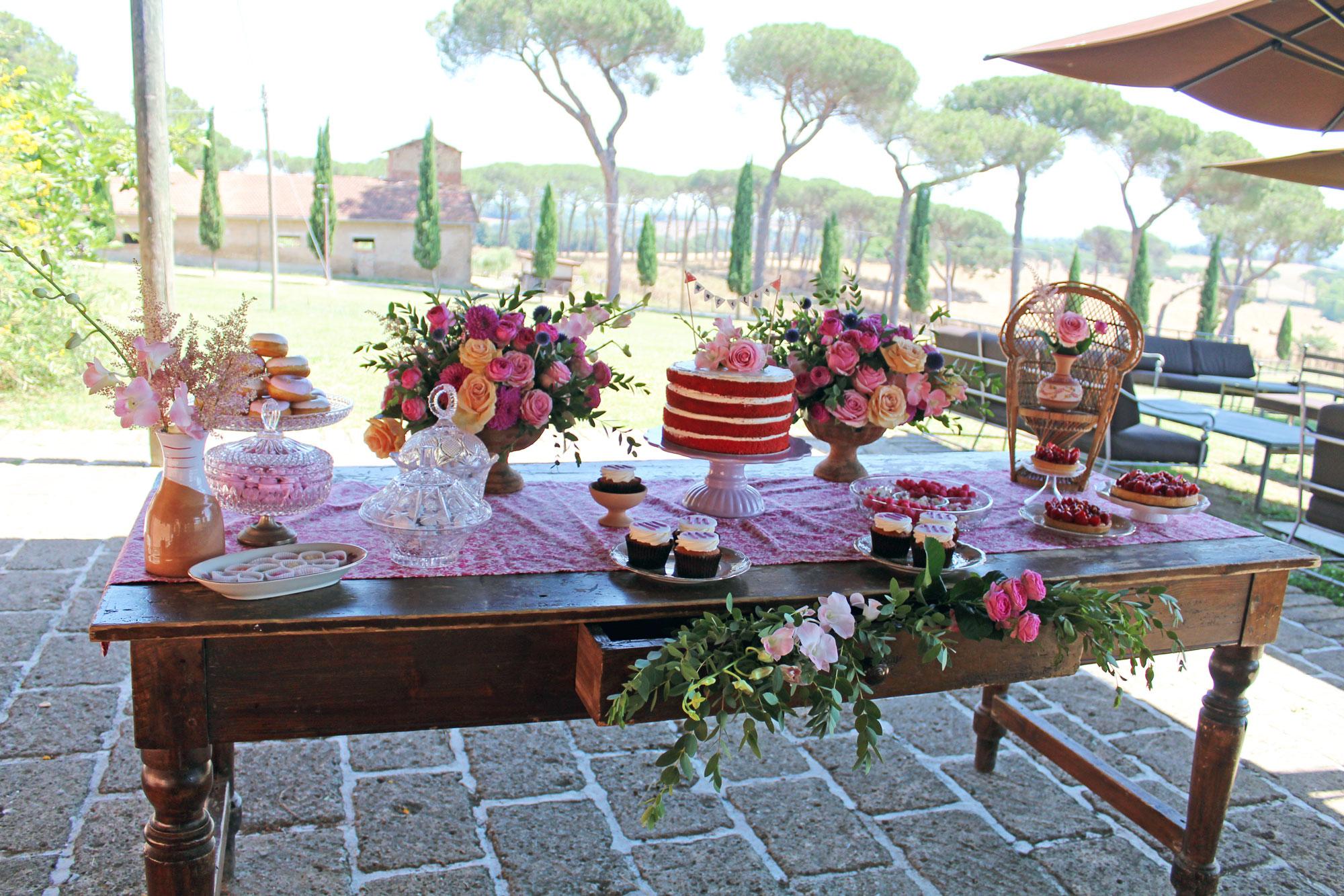Matilde Sweet Table - Ilaria Marrocco Design