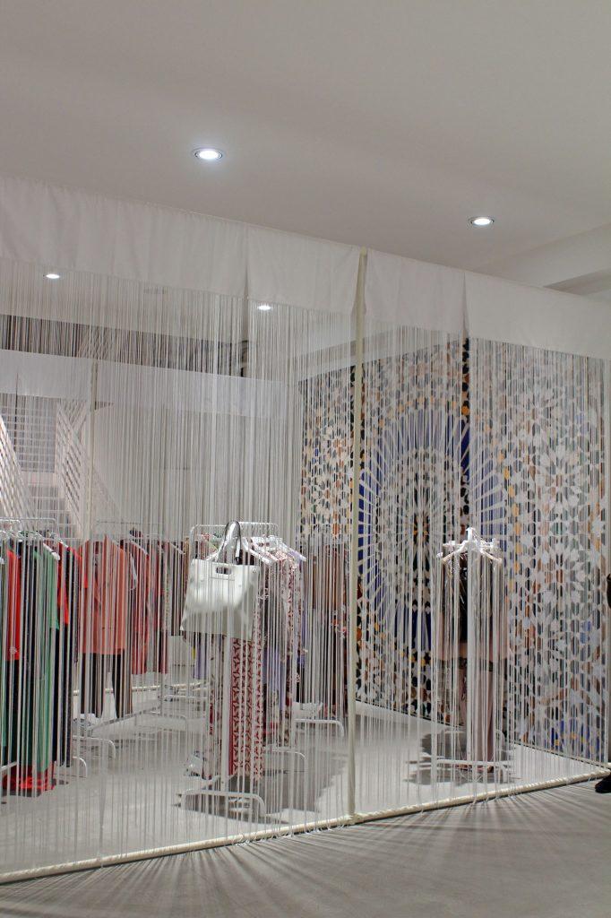 set up allestimento presentazione nuova collezione kate by l'altra moda bologna centergross