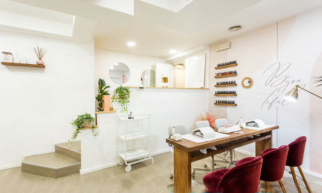 beauty lab interior design