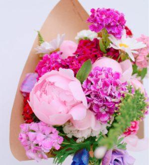 mazzo bouquet fiori freschi consegna a domicilio