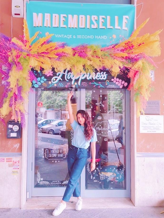 installazioni fiori secchi stabilizzati negozio roma