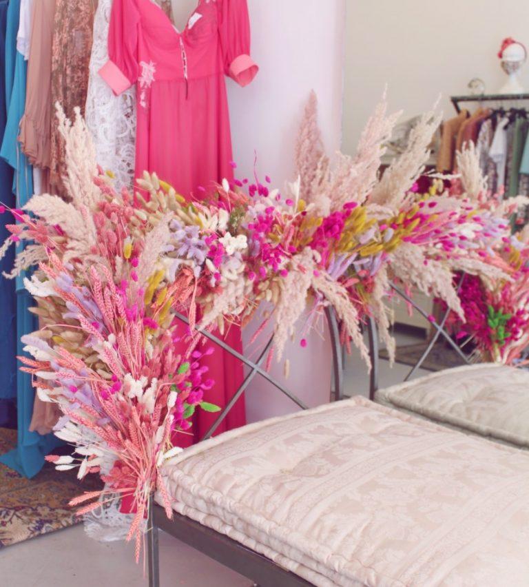 installazione di fiori secchi roma